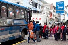 Série d'autobus scolaire - 1 Photographie stock libre de droits