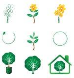 Série d'Eco illustration de vecteur