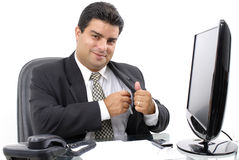 Série d'homme d'affaires Photos stock