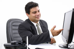Série d'homme d'affaires Image stock