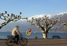 Série d'horizontal - Ascona   Image libre de droits