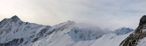 série d'horizontaux d'alpes image stock