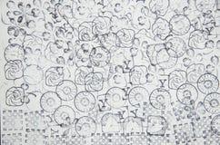 Série d'icône de tampon en caoutchouc sur le papier blanc Photographie stock