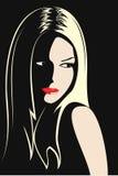Série d'images de jeunes et belles filles. Photographie stock libre de droits