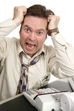 Série da contabilidade - AJUDA! Fotografia de Stock