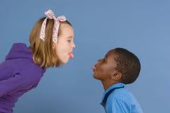 Série da diversidade - o argumento fotografia de stock