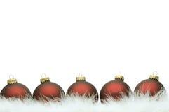 Série da esfera do Natal Foto de Stock Royalty Free