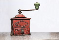 série da máquina do café do vintage mim fotografia de stock