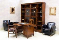 Série da mobília de escritório superior Fotografia de Stock