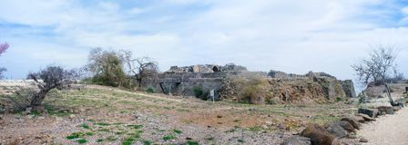 Série da Terra Santa - fortaleza 2 de Belvoir Fotografia de Stock Royalty Free