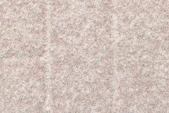 Série da textura - cristais da neve no bloco 1 do pátio Foto de Stock