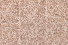 Série da textura - cristais da neve no bloco vermelho 1 do pátio Imagem de Stock Royalty Free