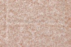 Série da textura - cristais da neve no bloco vermelho 2 do pátio Foto de Stock