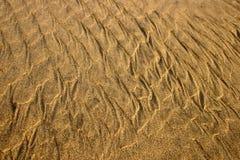 Série da textura da areia Foto de Stock Royalty Free