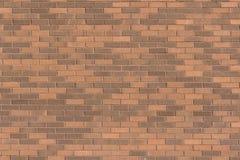Série da textura - parede de tijolo com marrons claros e escuros Foto de Stock Royalty Free
