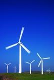 Série da turbina de vento Imagem de Stock Royalty Free