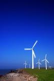 Série da turbina de vento Foto de Stock Royalty Free