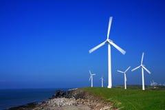 Série da turbina de vento Foto de Stock