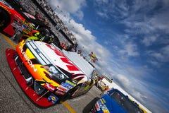 série Daytona 500 de cuvette de 3M Ford NASCAR Sprint Images libres de droits