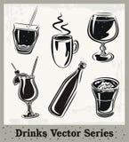 Série de boissons Photos libres de droits