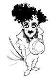 Série de caricature : caricature Photo stock