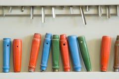 Série de carpinteiro das goivaduras Fotografia de Stock Royalty Free