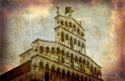 série de carte postale de l'Italie Photos stock