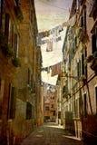 série de cartes postales de l'Italie Image libre de droits