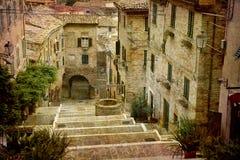 série de cartes postales de l'Italie photographie stock