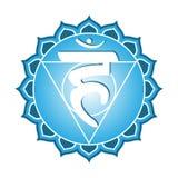 Série de Chakra : Vishudha Photos stock