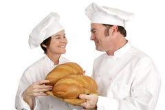 Série de chef - pains bons Images stock