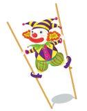 Série de clown illustration libre de droits