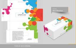 Série de concept de calibre de boîte de tissu illustration libre de droits