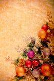 Série de Desing de Noël de cru Images libres de droits