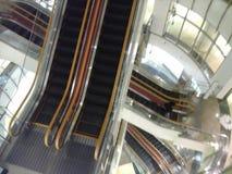 Série de escadas rolantes Imagens de Stock