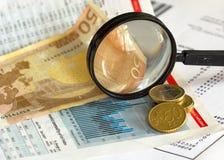 Série de finances photo libre de droits