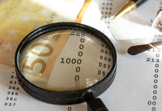 Série de finances Image libre de droits