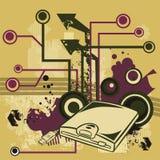 Série de fond d'ordinateur illustration de vecteur