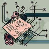 Série de fond d'ordinateur illustration libre de droits
