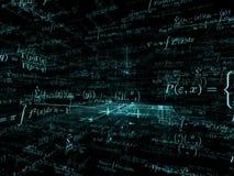 Manière des mathématiques illustration libre de droits