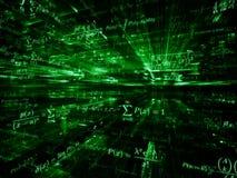 Mathématiques métaphoriques Photo libre de droits