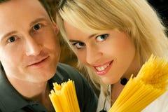 Série de gens de pâtes Photo stock