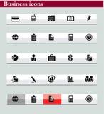 Série de graphismes d'affaires Images stock