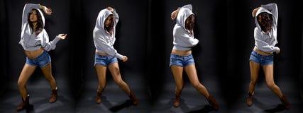 Série de Hip Hop do latim fotografia de stock royalty free