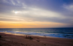 Série de Holyland - praia de Palmachim Fotografia de Stock Royalty Free