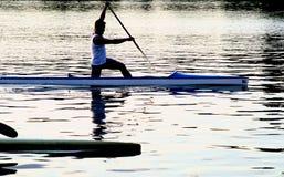 Série de kayak Images libres de droits
