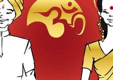 Série de l'Inde - couples Images libres de droits
