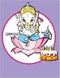Série de l'Inde - Ganesh Photos stock