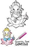 Série de l'Inde - Ganesh Image stock