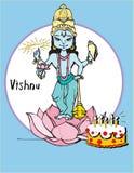 Série de l'Inde - Vishnu Photographie stock libre de droits